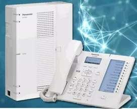 CENTRAL TELEFÓNICA IP KX-HTS32 MARCA PANASONIC COMO NUEVA EN CAJA CAPACIDAD PARA 24 ANEXOS IP o 8 ANEXOS ANALÓGICOS