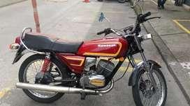 Se vende moto Kawasaki KH  125 seguro