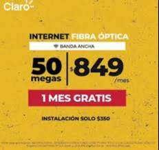FIBRA OPTICA CLARO