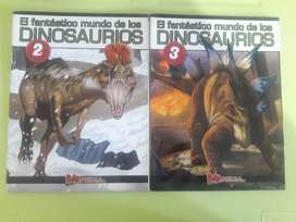 Art 338 Revistas El Fantastico Mundo de los DINOSAURIOS Billipedia Billiken