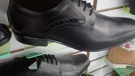 Zapatos cuero para caballero
