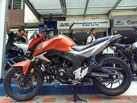 Honda CB160 F DLX modelo 2019 cómo nueva! Recibimos tu usada en parte de pago