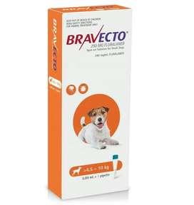 Bravecto 4-10kg Antipulgas Garrapaticida 3 meses Perros Superoferton