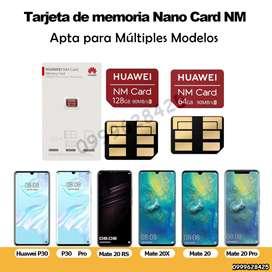 Memoria Nano SIM NM Huawei 64Gb Micro Sd Nano 128Gb p30 p40 mate 20