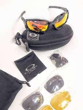 Zatsu. Gafas de Sol Oakley Ciclismo Multideportes