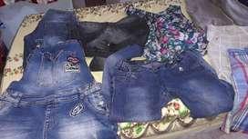 Pantalones de mujer y remeras nuevos  y usados
