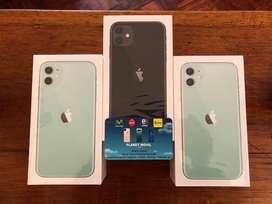 Vendo iPhone 11 de 64gb caja sellda