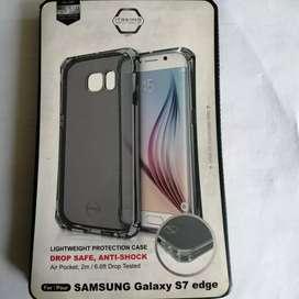 Estuche Antishock Silicona Itskins Samsung Galaxy S7 Edge Original.