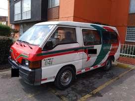 Microbus Soacha-Bogota