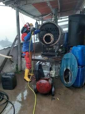 construccion y mantenimiento de calderos