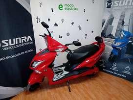 Moto Eléctrica Sunra Hawk Litio / Modo Eléctrico / ahora 12