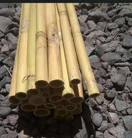 Venta De bambú y construimos cabañas