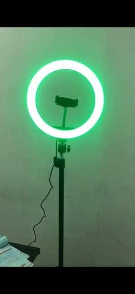Aro de luz selfie