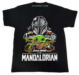 Camiseta mandalorian Star wars