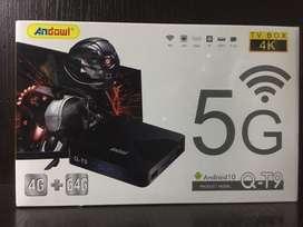 T.V BOX 4K. De 4G