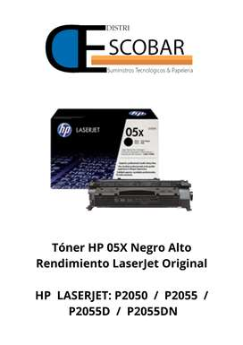 TONÉR HP 05X ALTO RENDIMIENTO