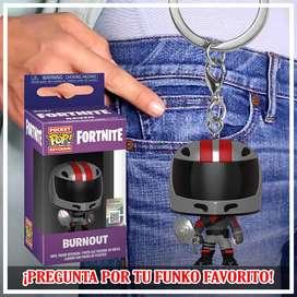 Fortnite Burnout Llavero Funko