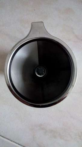 Filtro en acero inoxidable importado café molido buen tinto.