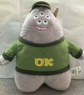 "Disney Store Collection Monster Inc 12 ""Scott Squibbles Peluche Monster University - Nuevo - Original"