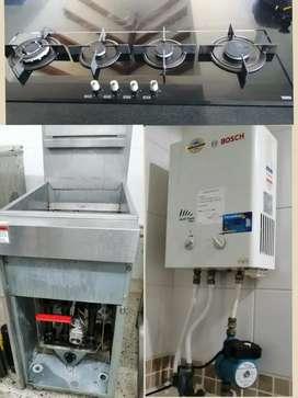 Mantenimiento y reparación calentadores, estufas, hornos