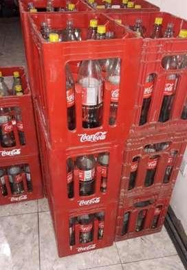Vendo Cajones de Coca Cola con Envases