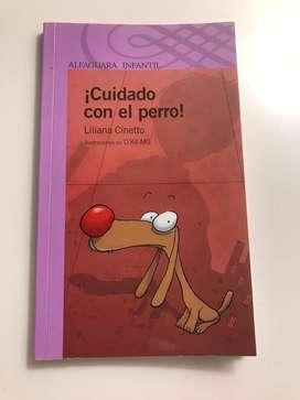 """Libro de cuento """"Cuidado con el Perro"""""""