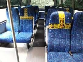 Silleteria Reclinable microbus 17 puestos
