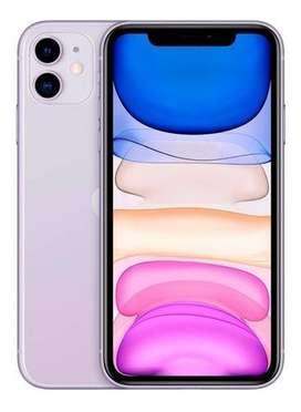 I PHONE 11 64 GB MORADO TOTALMENTE NUEVO