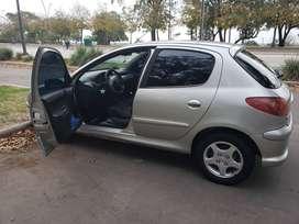 Peugeot 206 Xt 5 P. Mod. 2008 NO PERMUTO
