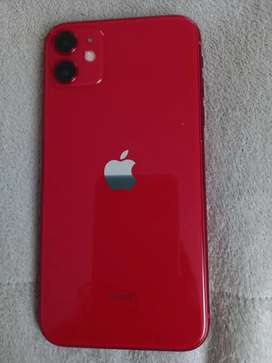 Telefono IPhone 11 Rojo