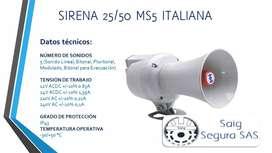 Sirena 25/50 MS5 Italiana