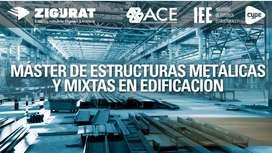 CURSO MÁSTER INTERNACIONAL DE ESTRUCTURAS METALICAS Y MIXTAS EN EDIFICACIONES.