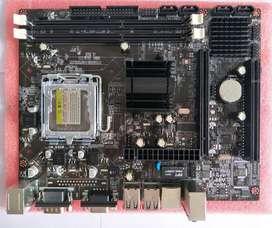 PLACA MADRE G41 LGA 775 DDR3 NUEVA oem
