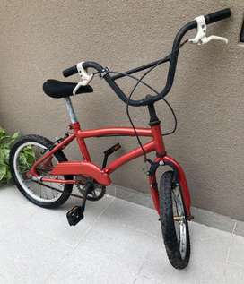 Bicicleta rodado 17 roja - Buen estado
