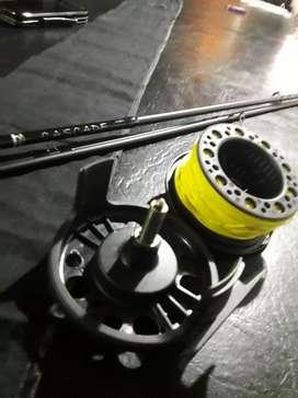 Equipo de pesca a mosca okuma