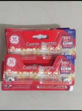 Vendo Pack de Lámparas de Cuarzo de 300w