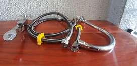 Llave o valvula de pedal para lavaplatos y lavamanos