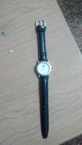 Reloj Pulsera Maya Negra Impecable