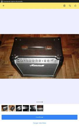 Marshall Amplificador Guitarra Slash