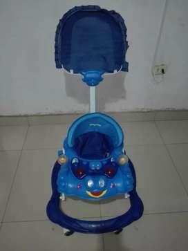 Andador para bebe color azul