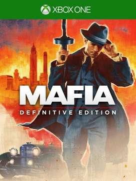 Mafia Definitive Edition Xbox One, Físico, Nuevo Y Sellado