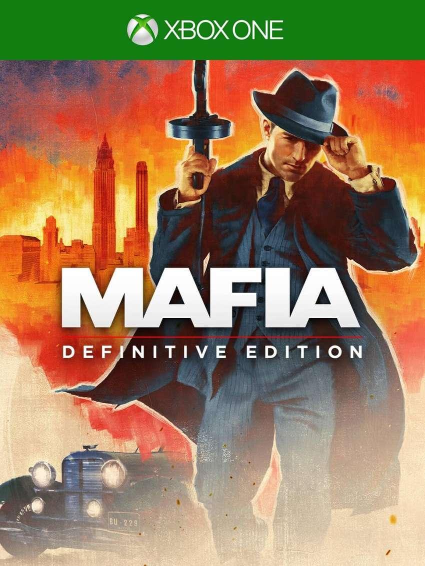 Nuevo Y Sellado, Mafia Definitive Edition Xbox One, Físico