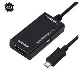 Adaptador De Cable Mhl Micro Usb A Hdmi Samsung Galaxy