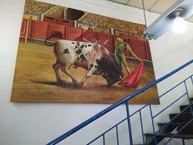 Obra de arte original del pintor y escultor Orlando castellanos