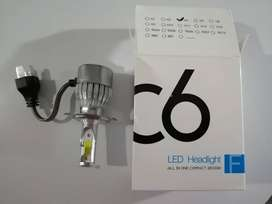 BOMBILLA LED DE 8.000 LUMINES PARA MOTO O CARRO
