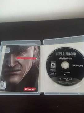 JUEGOS Play station 3 METAL GEAR SOLID 4