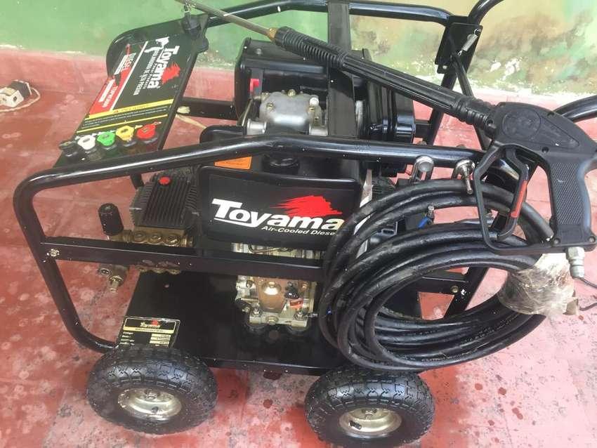 Hidrolavadora Diesel  Toyama 3600psi diesel 0
