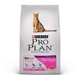 Pro Plan Sterilized Gatos 1 Kg Comida De Gato Adultos