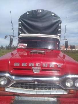VENDO FORD MERCURY MODEL0 1960, CON CARTA DE PROPIEDAD Y SOAT. NEGOCIABLE
