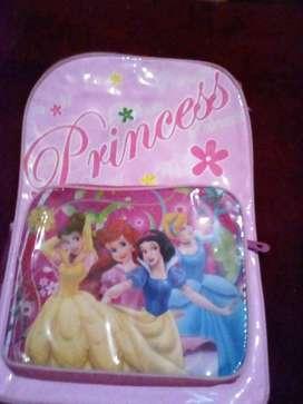 Mochila de princesas para niños